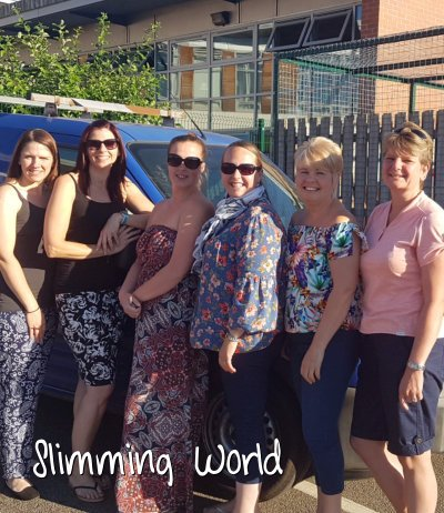 Photo of Slimming World members